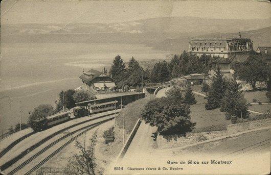 Gare de Glion