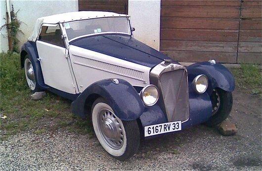 Une automobile Georges Irat