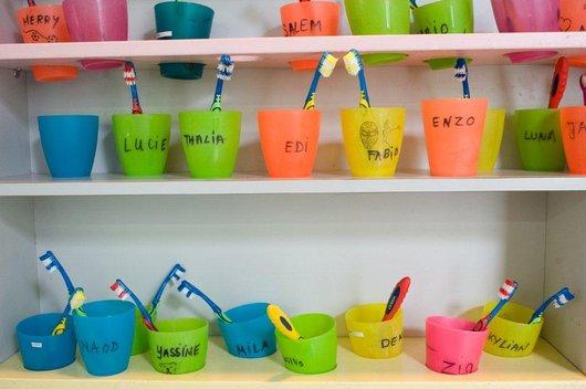 Centre de vie enfantine de Valency - L'apprentissage par la couleur
