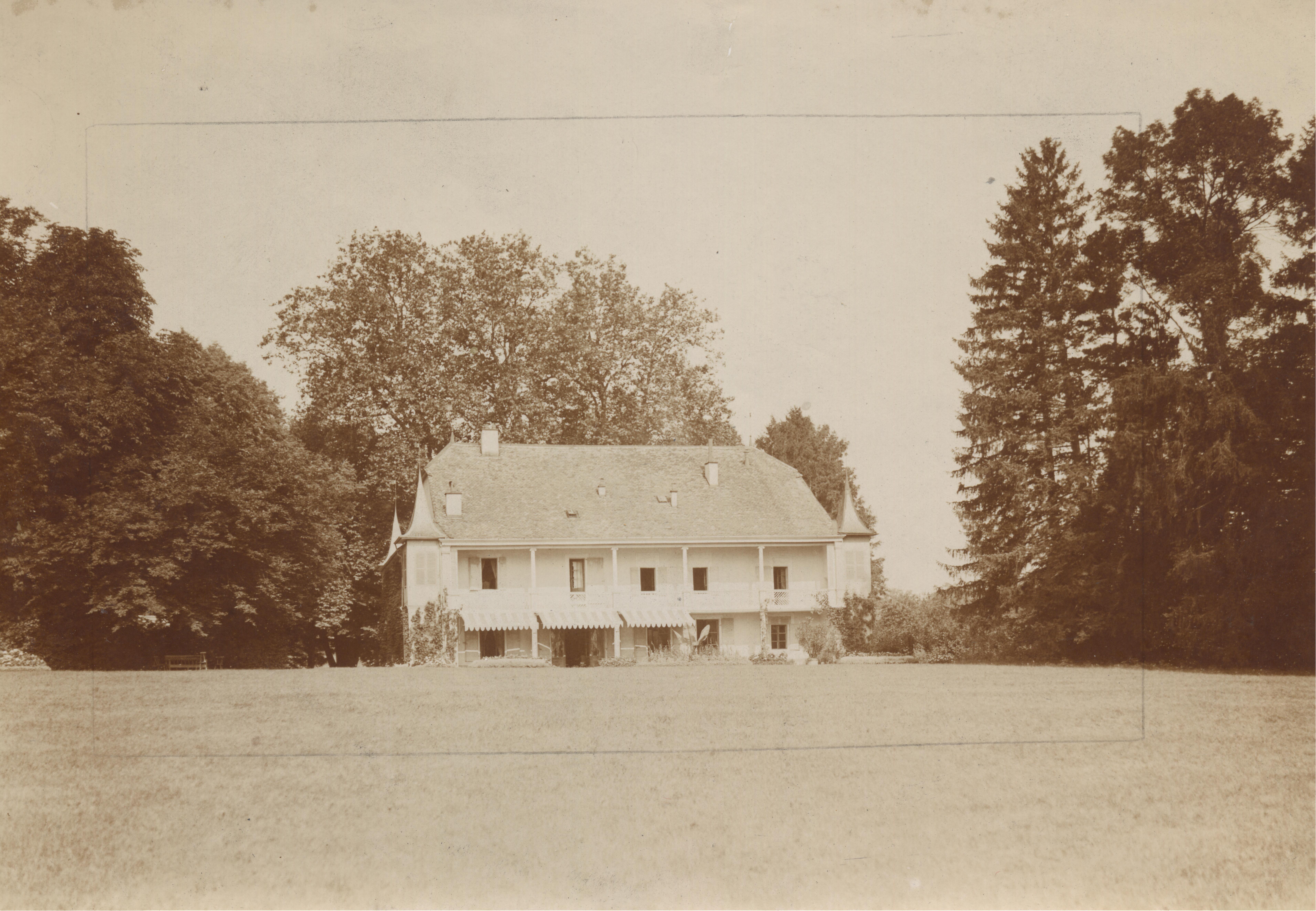 Domaine De Riencourt Bellevue avant 1924