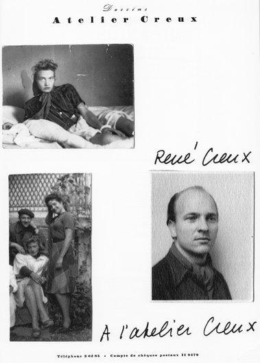 René Creux, artiste et ami de Victor Desarzens