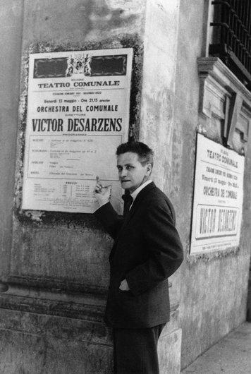 Victor Desarzens à Bologne au Teatro Communale de Bologne