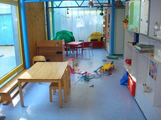 Centre de vie enfantine de Valency - espaces jeux et repos