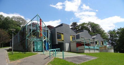 Centre de vie enfantine de Valency - le bâtiment