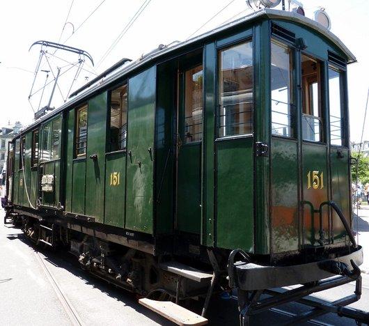 Les trams de Genève ont 150 ans