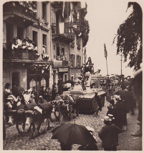 Fêtes des Vignerons 1905. Déesse Cérès