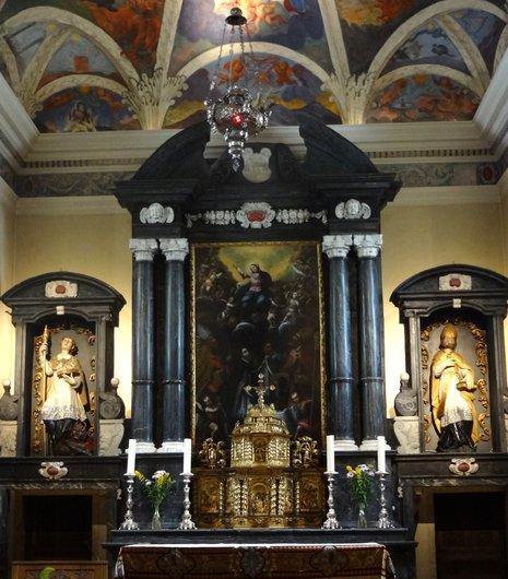 Eglise de l'Hospice du Grand-Saint-Bernard / Le maître-autel