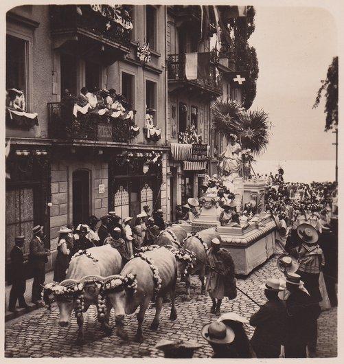 Fêtes des Vignerons 1905. Déesse Palès