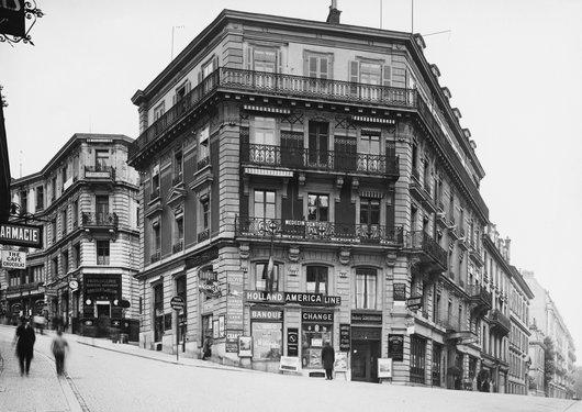 Rue du Petit-Chêne et rue du Midi; rencontre de l'amour...