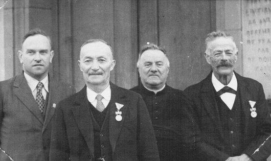 Lentigny, Médaille '' Bene merenti''