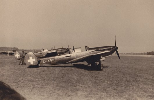 Meeting d'aviation Cointrin automne 1947
