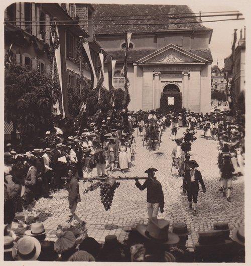 Fêtes des Vignerons 1905. L'automne