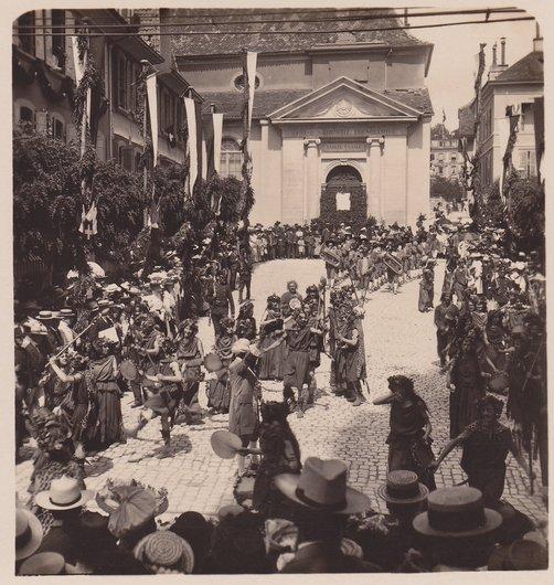 Fêtes des Vignerons 1905. Faunes et bacchantes
