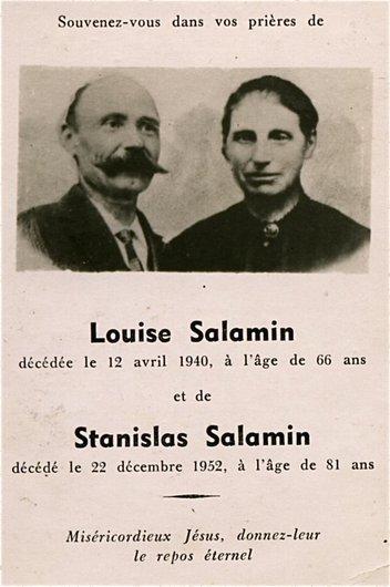 Louise et Stanislas Salamin