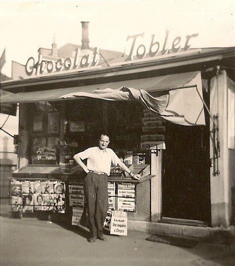 Un kiosque quelque part en romandie
