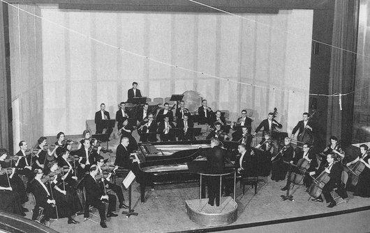 Francis Poulenc et Jacques Février Concerto pour deux pianos avec l'OCL