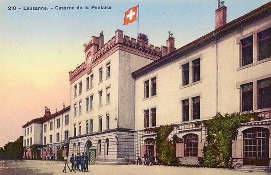 Lausanne - Caserne de la Pontaise
