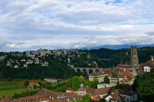 Fribourg et ses ponts