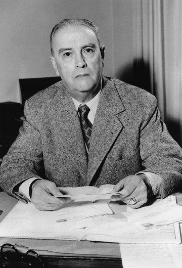 Edouard Moser, premier chef du service musical à Radio-Lausanne