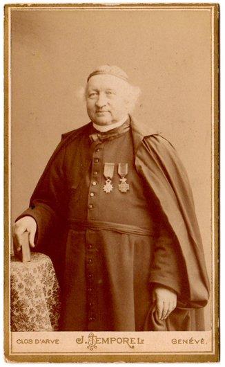 Jules-Étienne Joseph (Delle, 1834 - Douvaine, 1901) photographié chez J. Temporel, Plainpalais