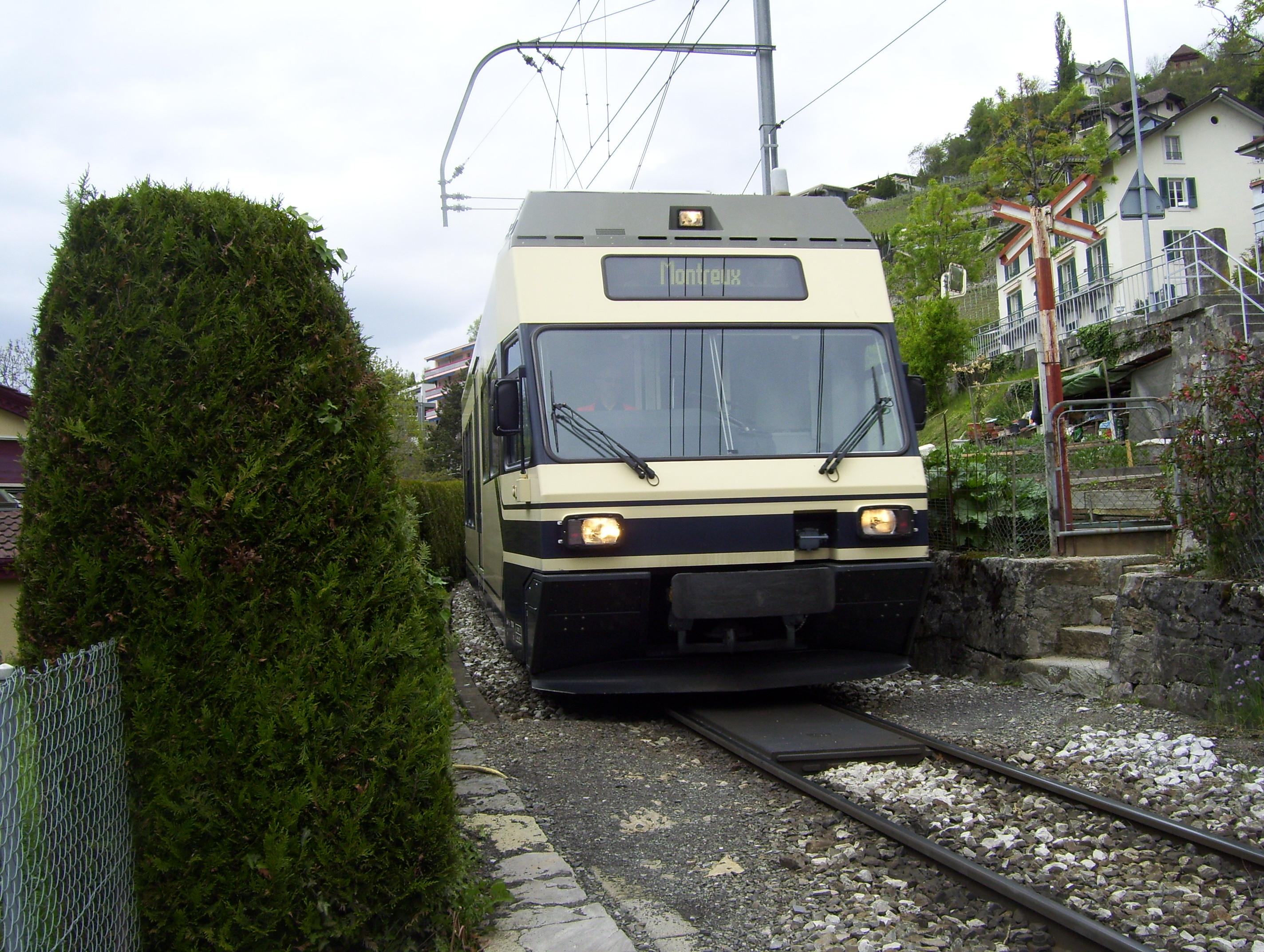 MOB, la navette régionale aux Vuarennes (Montreux)