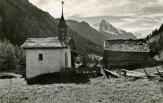 Chapelle Sainte Claire, une des deux chapelles de Mottec vs