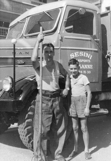 Claude et son papa