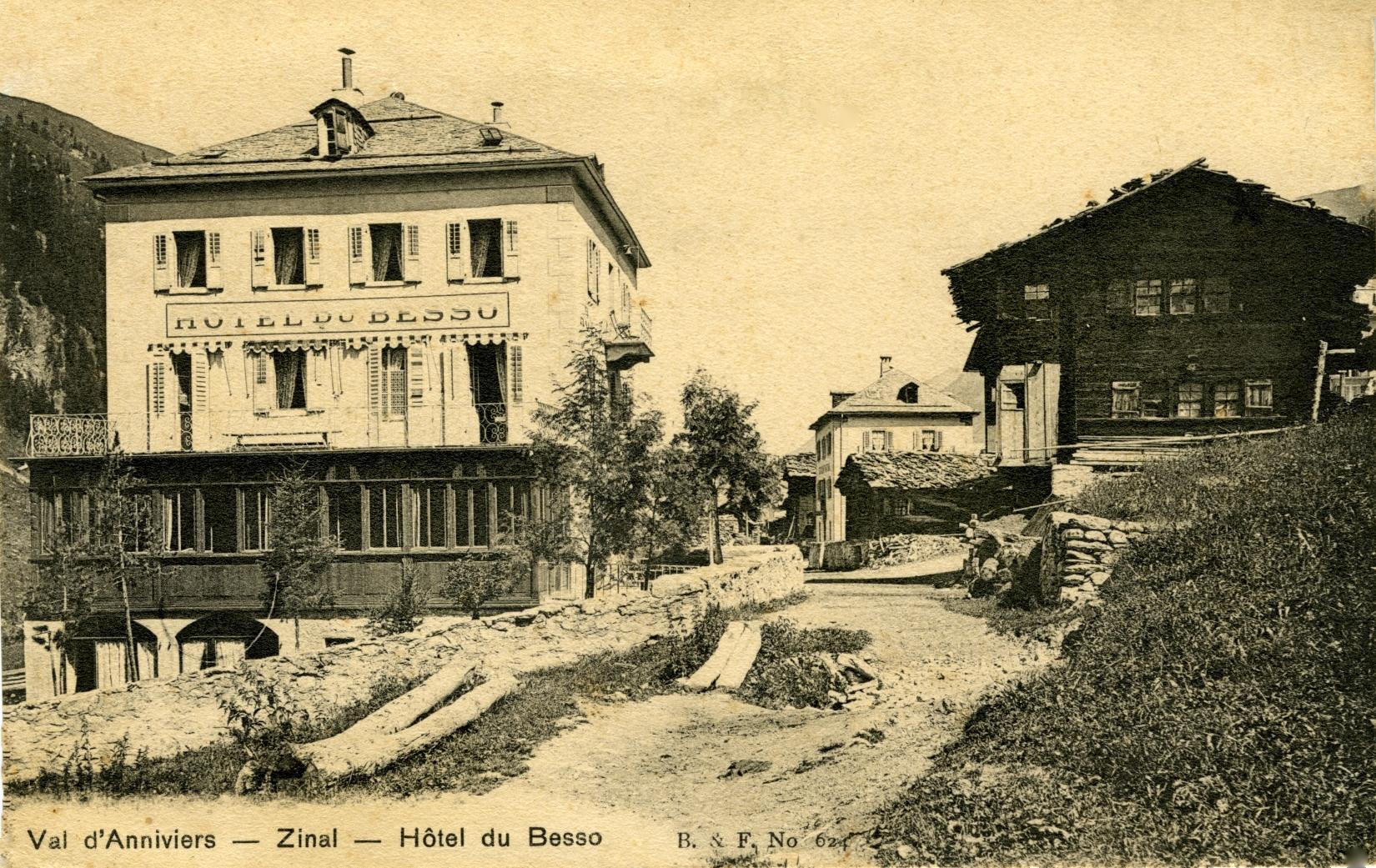 L'Hôtel du Besso à Zinal  Val d'Anniviers