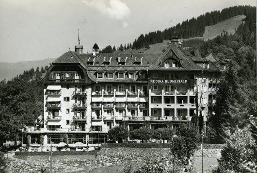 Hôtel Regina,  Wengen .1300 m.
