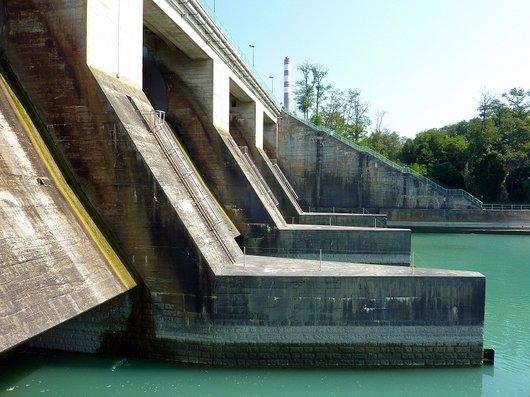 Le barrage de Verbois  5