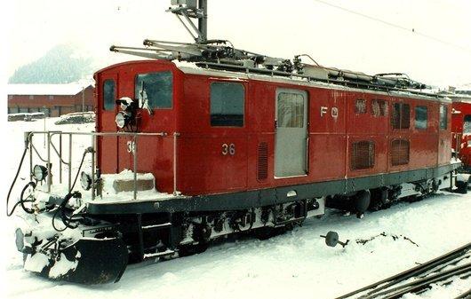 Locomotive de la FO