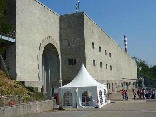 Le barrage de Verbois  1