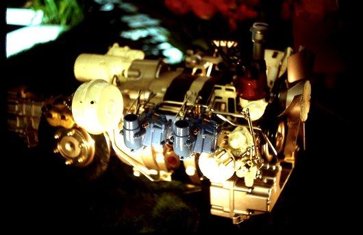 Auto Salon Genève '68 - Le moteur rotatif NSU Wankel