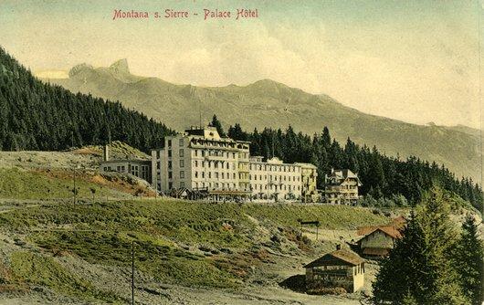 Palace Hôtel,  Montana sur Sierre