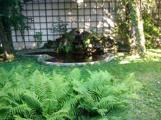 Jardin romantique au coeur de Vevey.....