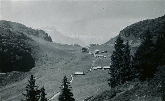 Un alpage au-dessus de Villars