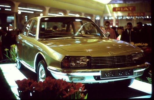 Auto Salon Genève '68 - NSU - Ro 80 avec moteur Wankel