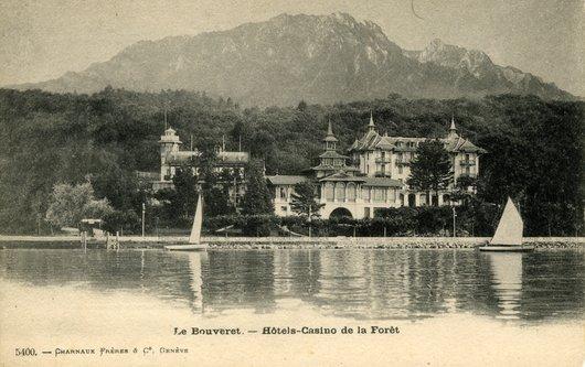 Hôtels Casino de la Forêt  . Le Bouveret  VS