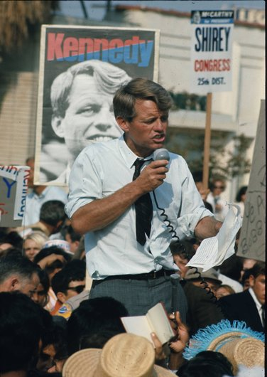 Robert  Kennedy en campagne (3/6)