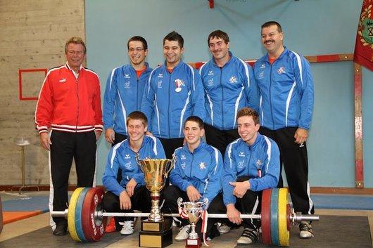 Tramelan, équipe championne Suisse 2012
