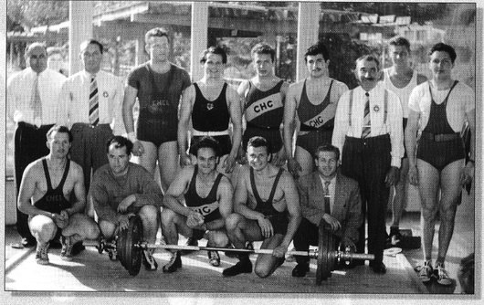 Le Club d'haltérophilie Lausannois 1965