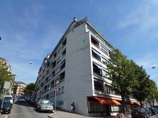 L'avenue des Alpes 1, à Lausanne, liée au souvenir de Suzanne Delacoste