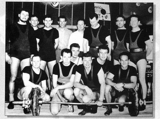 Le Club d'haltérophilie de Lausanne 1961