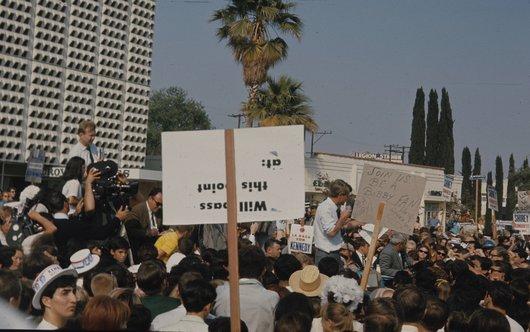 Robert  Kennedy en campagne (4/6)