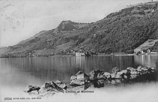 Chillon et Montreux