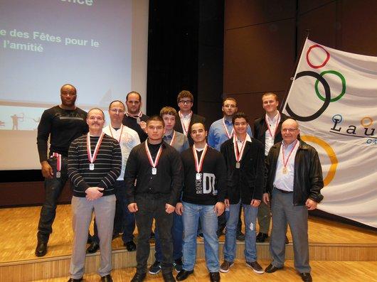 Sportifs méritants 2012  du CLHM