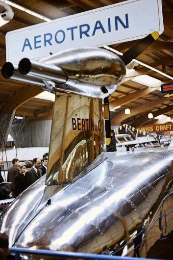 L'aérotrain de Bertin & Cie arrière 1966-1967
