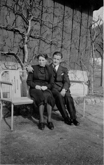 Mes grands-parents à Berne