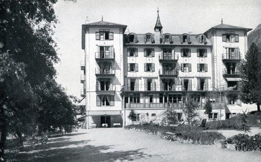 Grand Hôtel des Diablons  . Zinal .