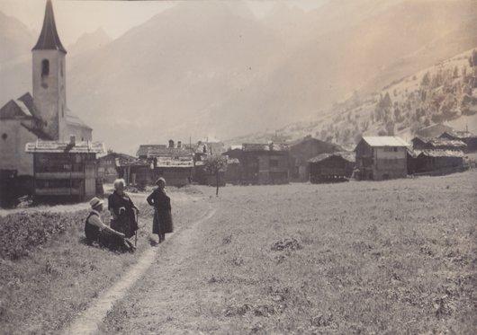 Village de Kippel, Lötschental, Canton de Valais, Suisse